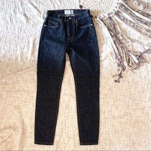Everlane dark wash skinny jeans 24 ankle